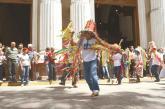 Pastores de San Joaquin realizaròn bailes en honor a la Virgen del Socorro frente a la Catedral de Valencia. Pastores de San Joaquin Pastores de San Joaquin
