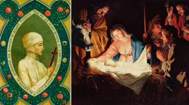 Una famosa Beata y mística vio el Nacimiento de Cristo. Aquí su relato